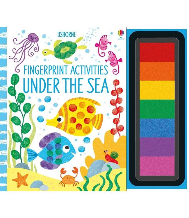Usborne Fingerprint Activities Under the Sea