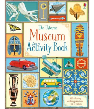 Usborne Museum Activity Book