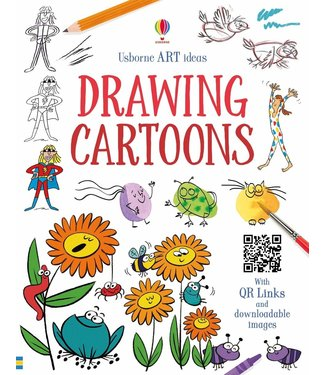 Usborne Art Ideas - Drawing Cartoons
