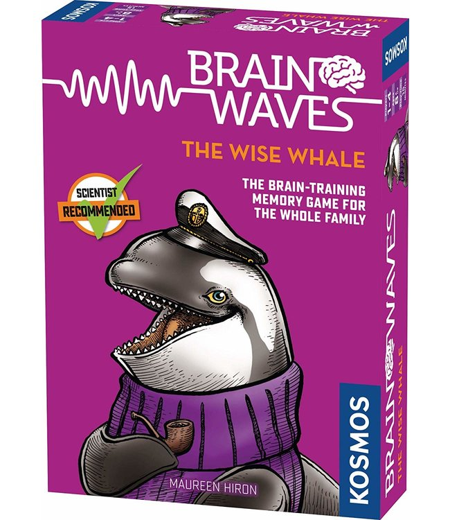 Kosmos Games Brain Waves: The Wise Whale