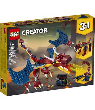 LEGO LEGO Creator Fire Dragon - 31102 - T