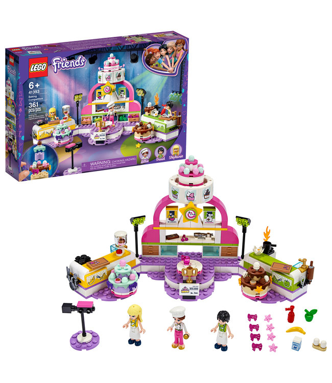 LEGO LEGO Friends Baking Competition - 41393 - T