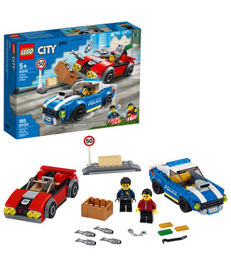 LEGO LEGO City Police Highway Arrest - 60242 - T