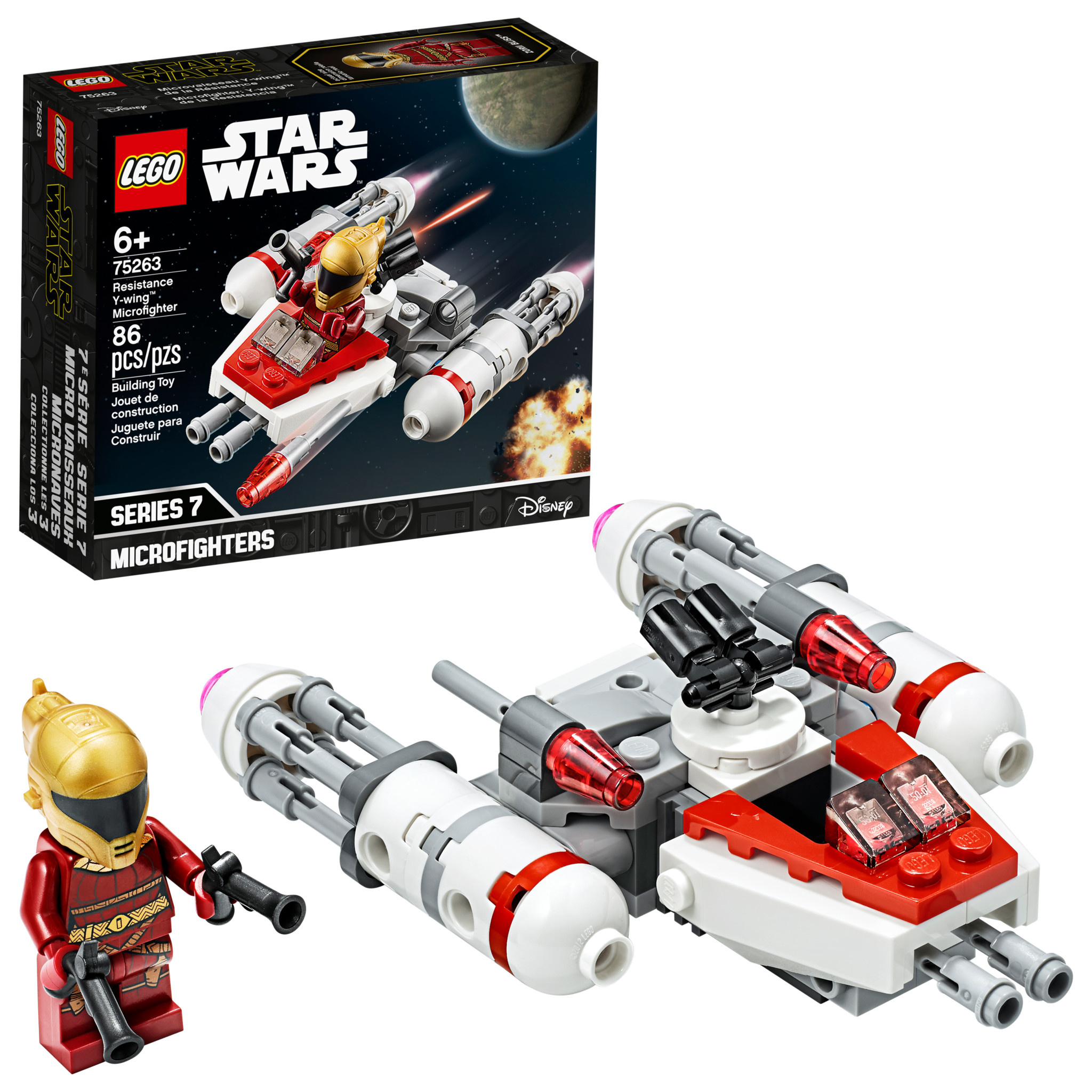 Lego Star Wars Resistance Y Wing 75263 T Ispark Toys