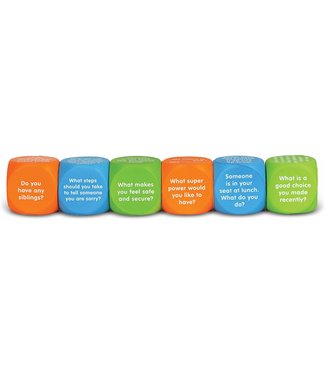 Learning Resources Let's Talk Cubes