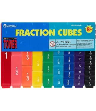 Learning Resources Fraction Tower Cubes