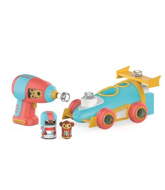 Educational Insights Design & Drill Bolt Buddies - Race Car