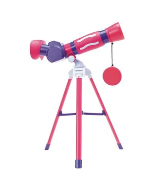 Educational Insights Geosafari Jr. My First Telescope Pink