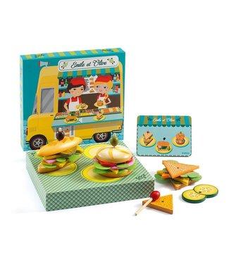 Djeco Emile & Olive Food Truck