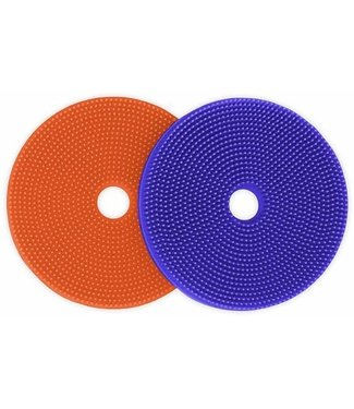 innobaby SPIKE FIJ-IT 2-PACK Orange/Periwinkle