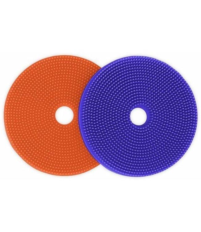 innobaby SPIKE FIJ-IT 2-PACK Orange/Periwinkle