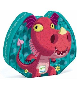 Djeco Edmond The Dragon Silhouette Puzzle