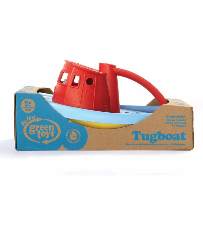 Green Toys Tugboat - Assorted
