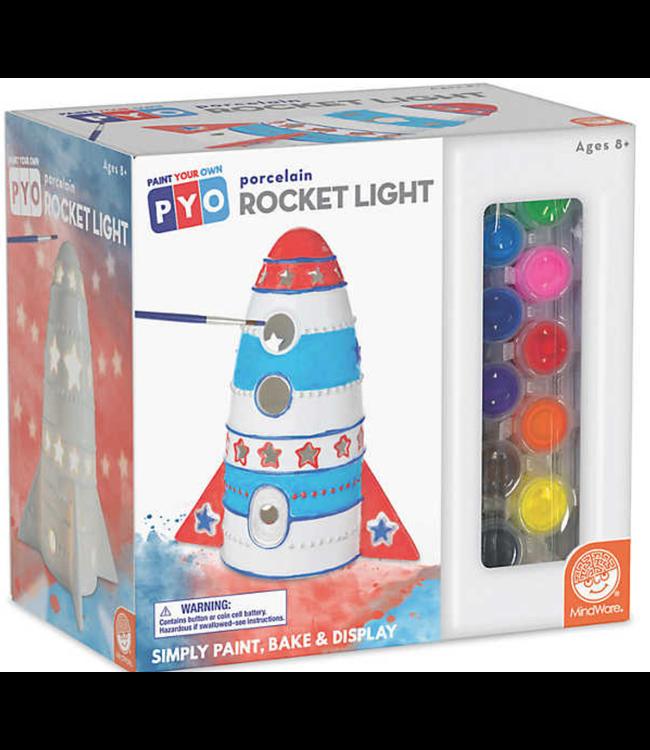 Mindware Paint Your Own Rocket Light