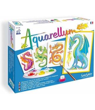 Sentosphere USA Aquarellum Junior- Dragons
