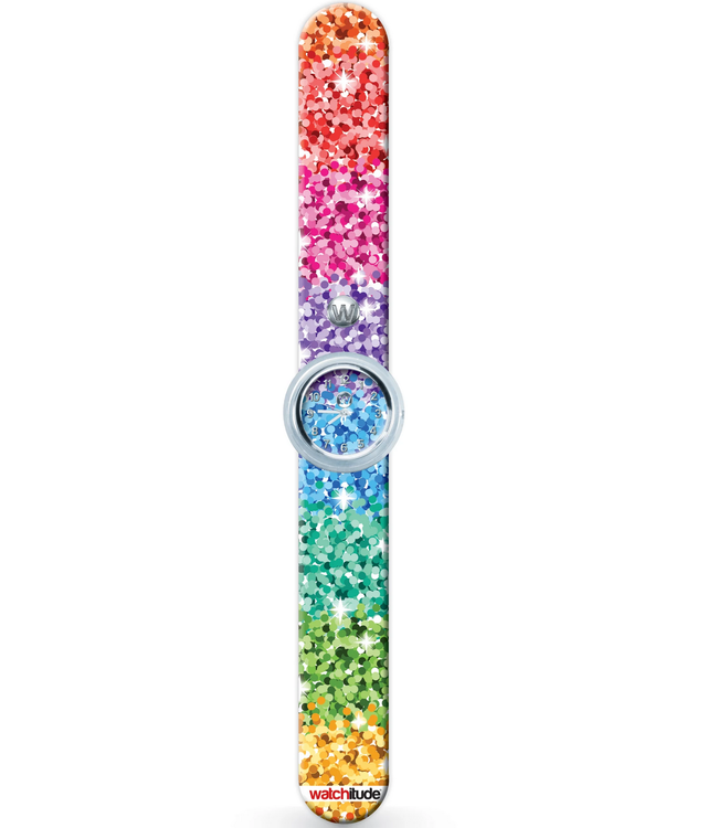 Watchitude Sassy Sequins - Slap Watch