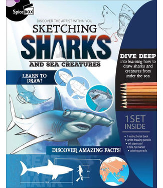SpiceBox Sketching Sharks & Sea Creatures