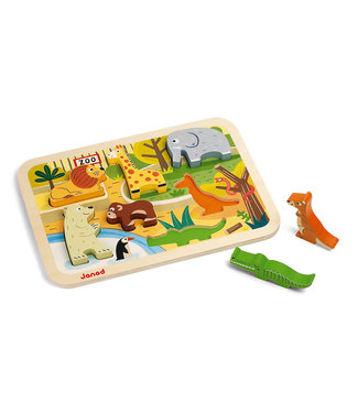 Janod Zoo Chunky Puzzle