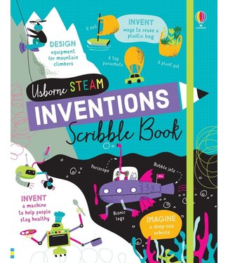 Usborne STEM Inventions Scribble Book