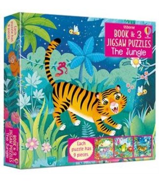 Usborne The Jungle - Book and Jigsaw Puzzle