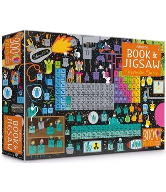 Usborne Periodic Table - Book and Jigsaw Puzzle