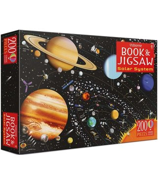 Usborne Solar System - Book and Jigsaw Puzzle