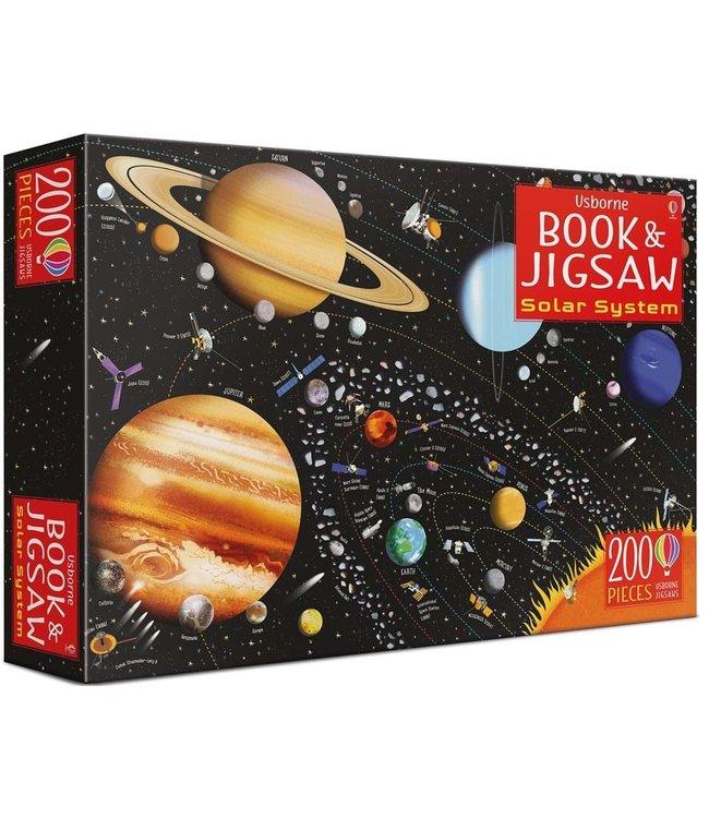Usborne Solar System - Book and Jigsaw Puzzle