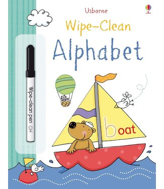 Usborne Wipe-Clean Alphabet