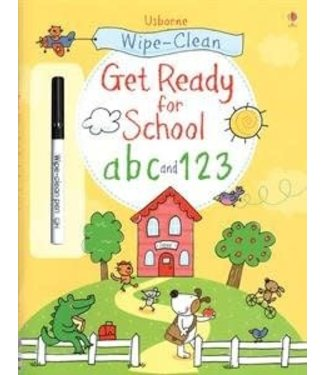 Usborne Wipe-Clean Get Ready for School