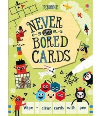 Usborne Never Get Bored cards
