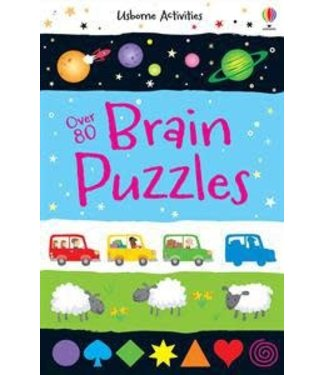 Usborne Over 80 Brain Puzzles