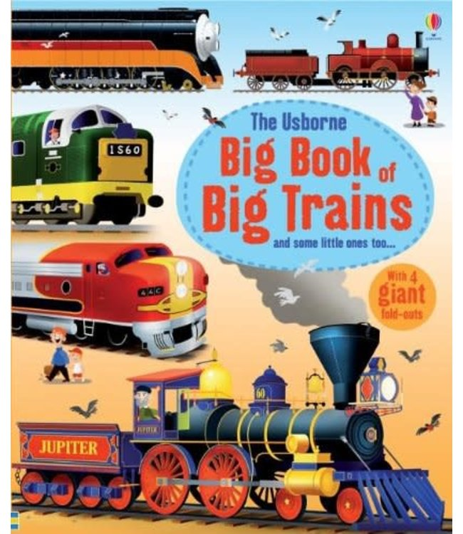 Usborne Big Book of Big Trains