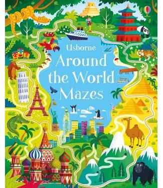 Usborne Around the World Mazes