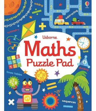 Usborne Math Puzzle Pad