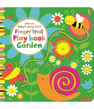 Usborne Baby's Very First Fingertrail Play Book Garden
