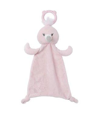 Gund Baby Toothpick Aubrey Flamingo Teether Lovey