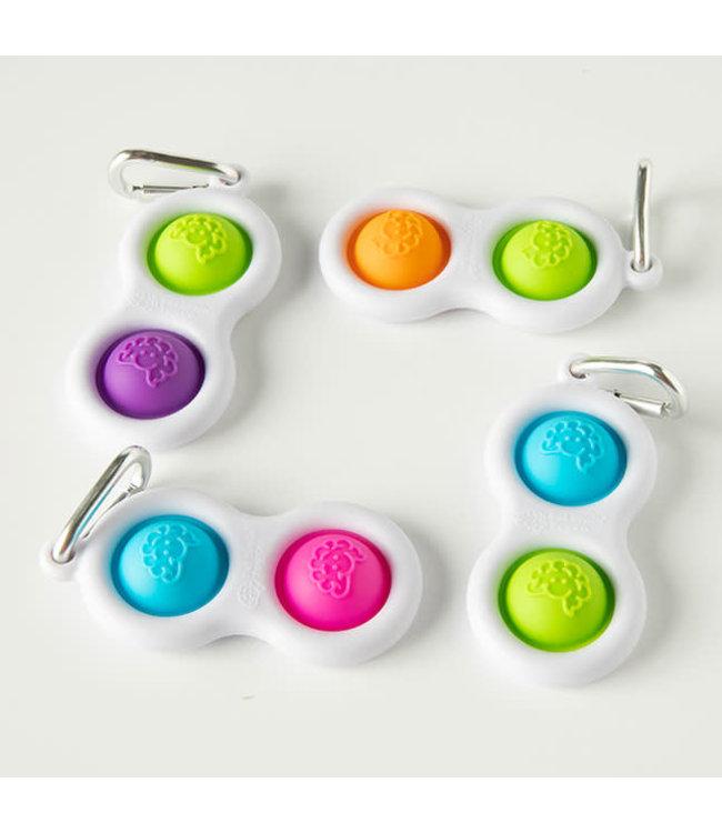 Fat Brain Toys Simpl Dimpl Keychain