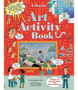 Usborne Art Activity Book