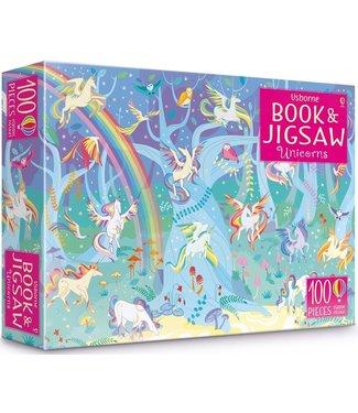 Usborne Unicorns - Book and Jigsaw Puzzle