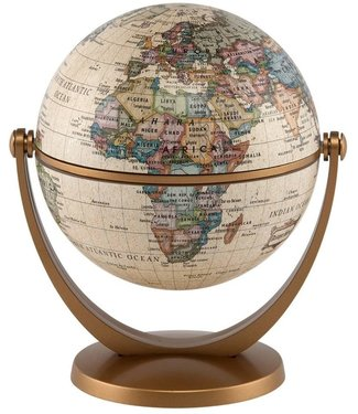 "Waypoint Geographics 4"" GyroGlobe Antique"