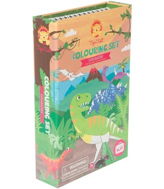 Schylling Dinosaurs Coloring Set