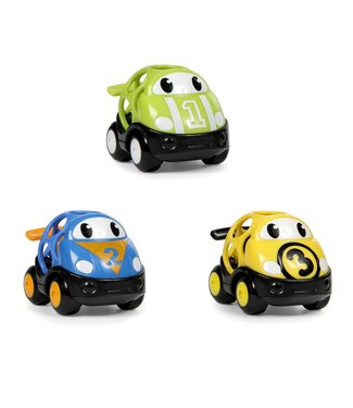 Toysmith Go Grippers vehicles race car 3 pack