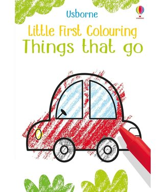 Usborne Little coloring Things that go