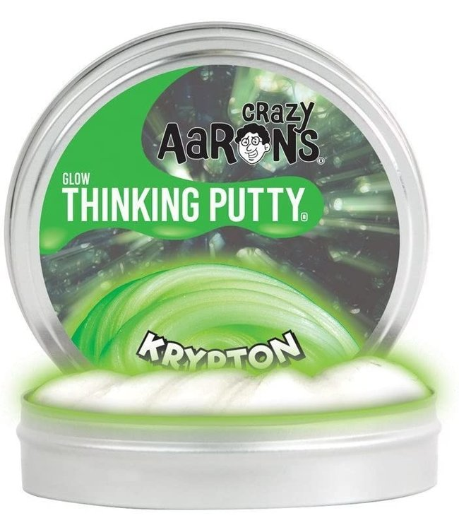 "Crazy Aaron Thinking Putty - 2"" Krypton"