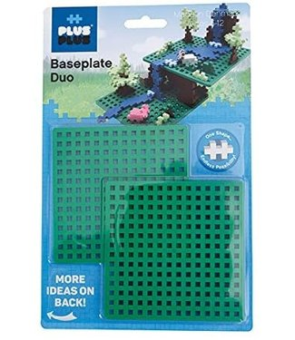 Plus-Plus Baseplate Builder - Green