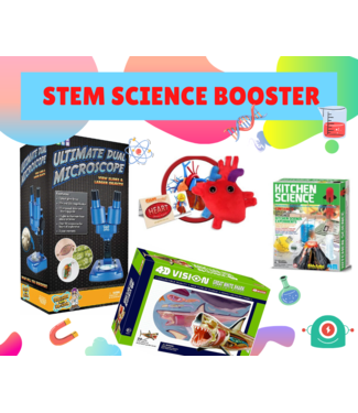 iSpark Toys STEM Science Booster Bundle