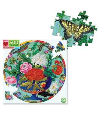 eeBoo Bouquet & Birds Puzzle
