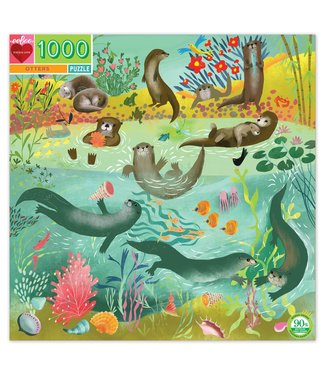 eeBoo Otters Puzzle- 1000piece