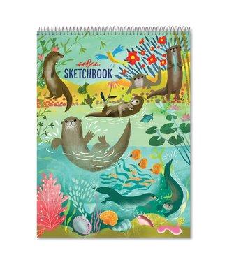 eeBoo Otters Sketchbook