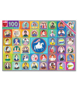 eeBoo Votes for Women 100 piece puzzle